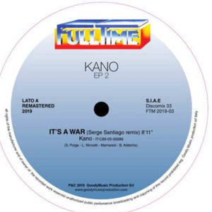 "KANO - IT'S A WAR 12"" (FULL TIME)"