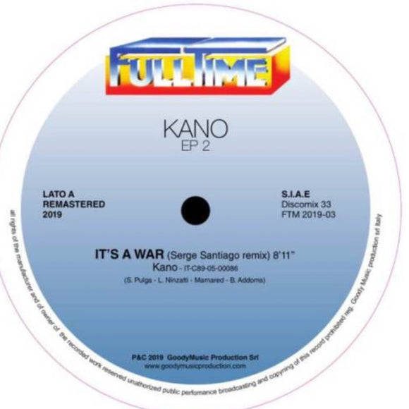 KANO - IT'S A WAR 12