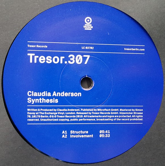 CLAUDIA ANDERSON - SYNTHESIS 12
