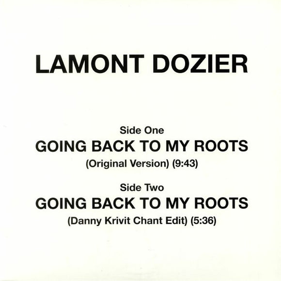 LAMONT DOZIER - GOING BACK TO MY ROOTS 12