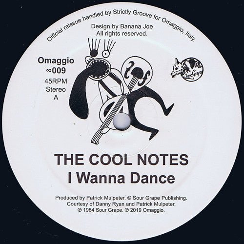 COOL NOTES - I WANNA DANCE 12
