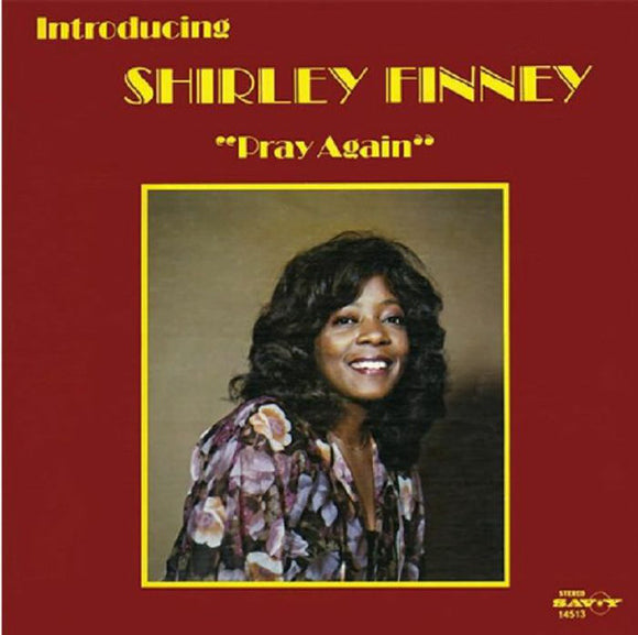 SHIRLEY FINNEY - PRAY AGAIN LP (RAIN & SHINE)