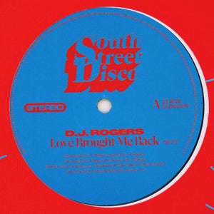 "D.J. ROGERS - LOVE BROUGHT ME BACK 12"" (SOUTH STREET DISCO)"