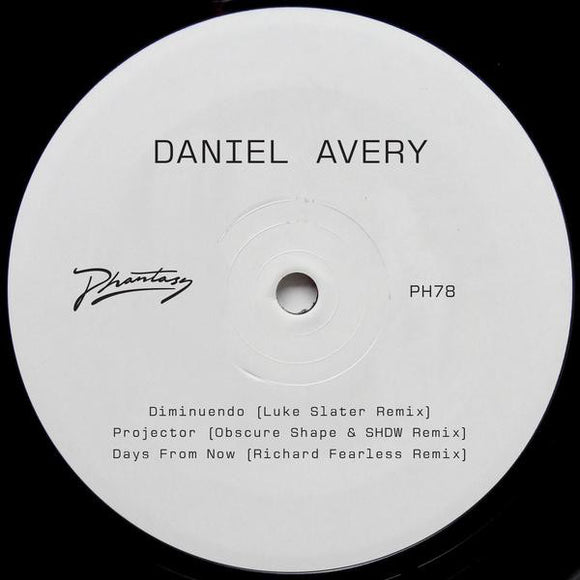 DANIEL AVERY - SONG FOR ALPHA RMXS PT2 12