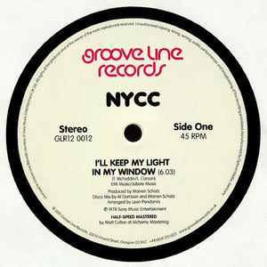 "NYCC - I'LL KEEP MY LIGHT IN MY WINDOW 12"" (GROOVE LINE)"