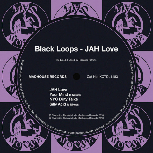 BLACK LOOPS - JAH LOVE 12
