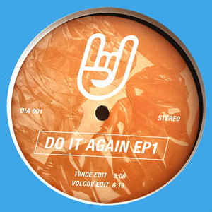 "TWICE & VOLCOV - DO IT AGAIN EP 1 12"" (DO IT AGAIN)"