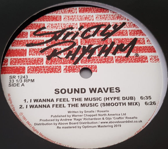 SOUND WAVES - I WANNA FEEL THE MUSIC 12