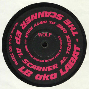 "LB AKA LABAT - THE SCANNER EP 12"" (WOLF MUSIC)"