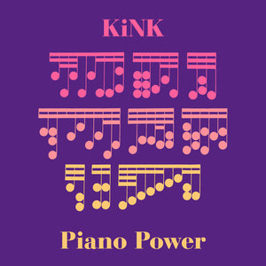 "KINK - PIANO POWER EP 12"" (RUNNING BACK)"