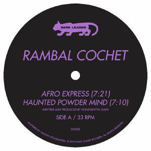Portland's DARK LEADER returns with their first release in a few years: RAMBAL COCHET (aka prolific Russian producer VOLTA CAB), who presents three tracks that merge EBM, New Beat, Afro-disco & Italo and pulse with dancefloor energy. Tip!