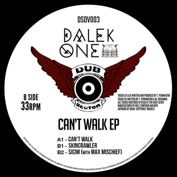DALEK ONE - CAN'T WALK EP 12