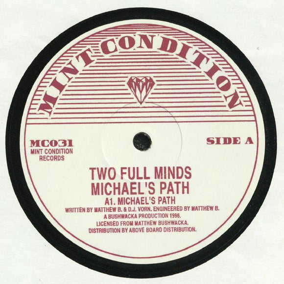 TWO FULL MINDS - MICHAEL'S PATH 12