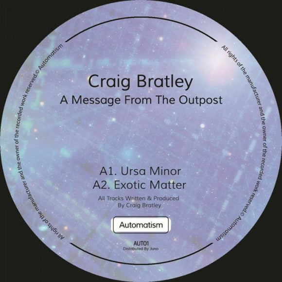 CRAIG BRATLEY - A MESSAGE FROM THE OUTPOST EP 12