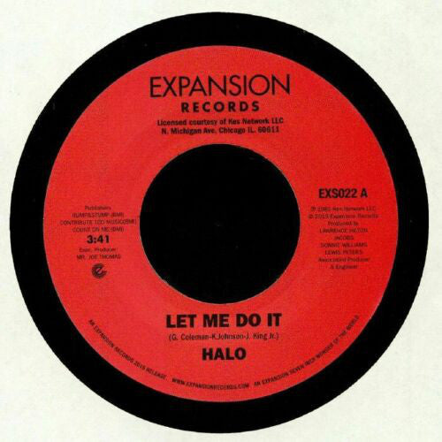 HALO - LET ME DO IT & LIFE (RSD) 12