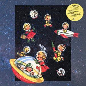VARIOUS - ELSEWHERE JUNIOR I: A COLLECTION OF COSMIC CHILDREN'S SONGS DLP (MUSIC FOR DREAMS)