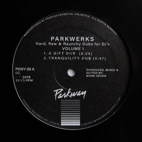 MARK SEVEN - PARKWERKS VOL. 1 12