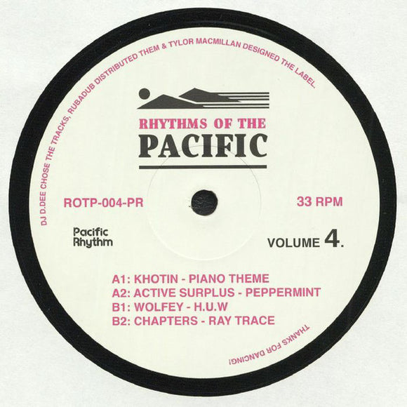 VARIOUS - RHYTHMS OF THE PACIFIC VOL 4 12