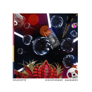 VELOCETTE - DISCOTHEQUE SAUDADES 2LP (A COLORFUL STORM)