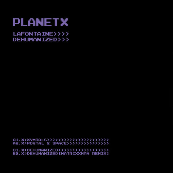 LAFONTAINE - DEHUMANIZED 12
