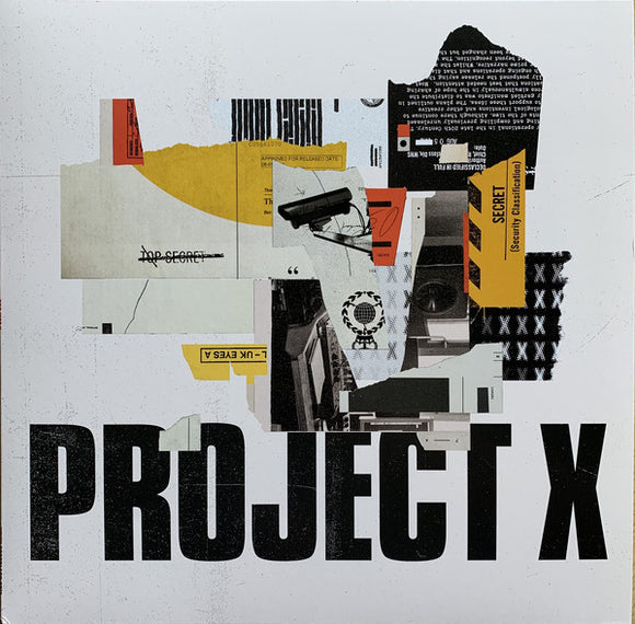 PROJECT X - PROJECT X LP (2000 BLACK)