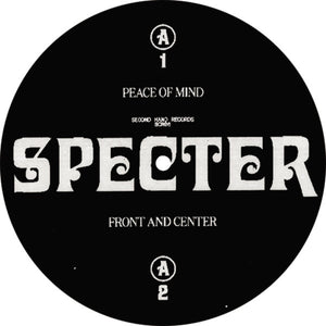 "SPECTER - TEST OF TIME EP 12"" (SECOND HAND RECORDS)"