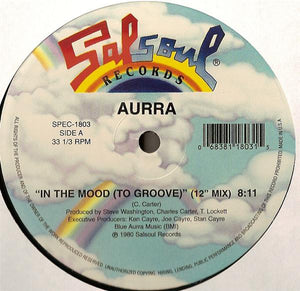 "AURRA - IN THE MOOD 12"" (SALSOUL)"