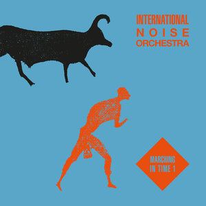 "INTERNATIONAL NOISE ORCHESTRA - MARCHING IN TIME V1 12"" (EMOTIONAL RESCUE)"