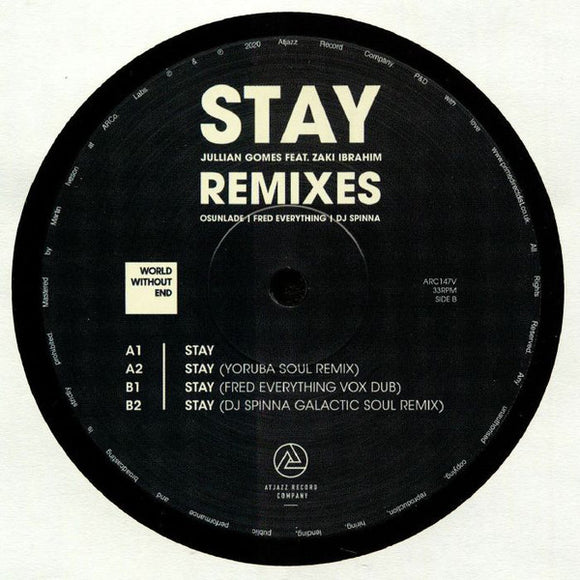 JULLIAN GOMES - STAY REMIXES 12
