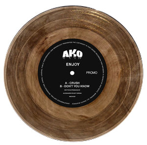 "ENJOY - CRUSH / DON'T YOU KNOW 10"" (AKO10)"