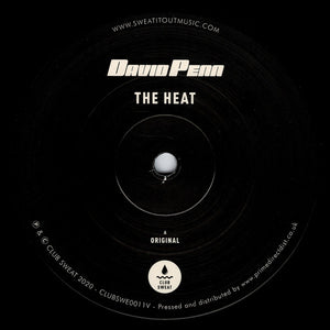 "DAVID PENN - THE HEAT 12"" (CLUB SWEAT)"