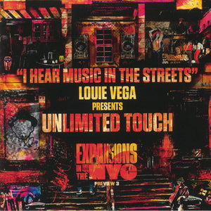 "UNLIMITED TOUCH - I HEAR MUSIC IN THE STREETS 2020 12"" (NERVOUS)"