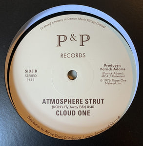 "CLOUD ONE - ATMOSPHERE STRUT (KON RMX) 12"" (P&P RECORDS)"