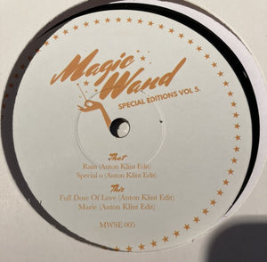 "ANTON KLINT - MAGIC WAND SPECIAL EDITION VOL. 5 12"" (MAGIC WAND)"