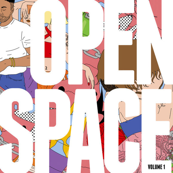 VARIOUS - OPEN SPACE VOL. 1 3LP (FIGURE)