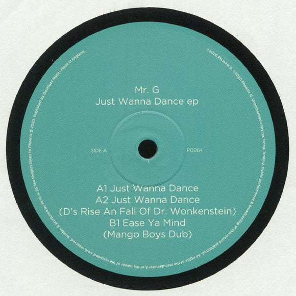 MR. G - JUST WANNA DANCE 12