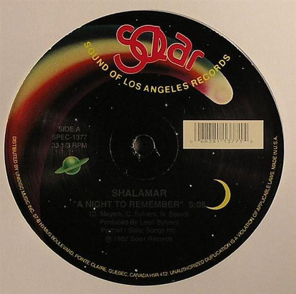 SHALAMAR - A NIGHT TO REMEMBER 12