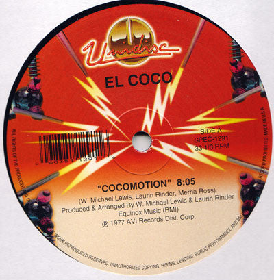 EL COCO - COCOMOTION 12