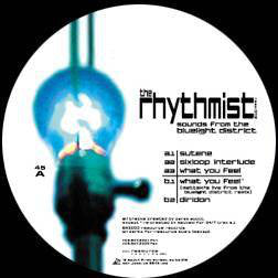 "THE RHYTHMIST - SOUNDS FROM THE BLUELIGHT DISTRICT 12"" (RESOURCE RECORDS)"
