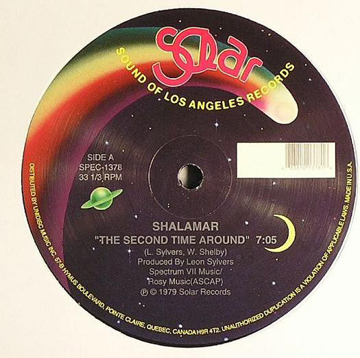 SHALAMAR - THE SECOND TIME AROUND 12
