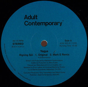 "YAGYA - RIGNING SJO 12"" (ADULT CONTEMPORARY)"