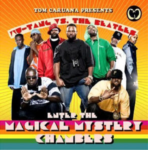 WU-TANG CLAN VS THE BEATLES - ENTER THE MAGICAL MYSTERY CHAMBERS DLP (WHITE)