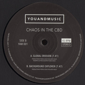 "CHAOS IN THE CBD - GLOBAL EROSION 12"" (YAM)"