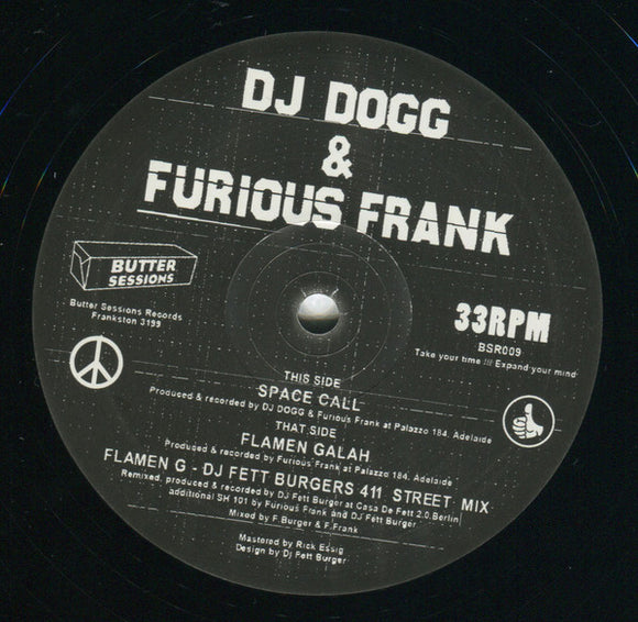 DJ DOGG & FURIOUS FRANK - SPACE CALL 12