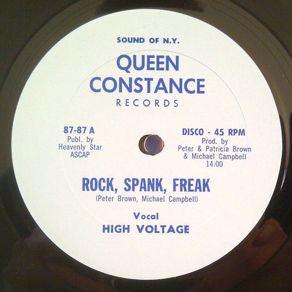 HIGH VOLTAGE - ROCK, SPANK, FREAK 12