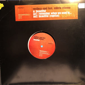 "RESTLESS SOUL FEAT. VALERIE ETIENNE - BEAUTIFUL 12"" (PEOPLE)"