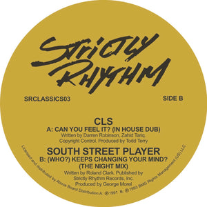 "VARIOUS - STRICTLY CLASSICS VOL 3 12"" (STRICTLY RHYTHM)"