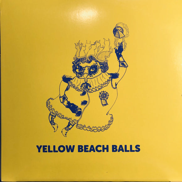 YELLOW BEACH BALLS - SPACE CAT 12