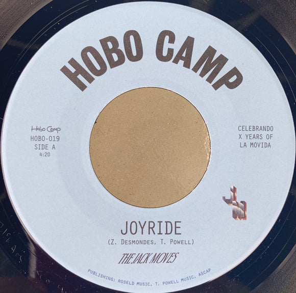 THE JACK MOVES - JOYRIDE/WANTIN' YOU 7