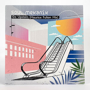 "SOUL MEKANIK - GO UPSTAIRS REMIX 12"" (ROGUE NON-EXCLUSIVE SOUNDS)"